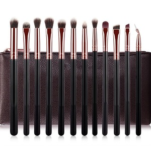 2020 Professional Powder Makeup Brushes 12pcs Face Foundation Blush Cosmetic Make Up Tool