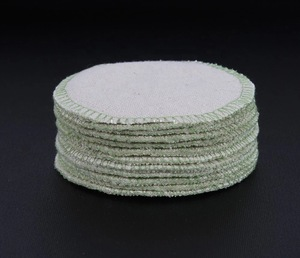 Anti-bacterial washable hemp makeup remover reusable remover pads rounds makeup remover cotton pads