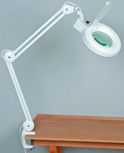 guangzhou factory/MY-M01 magnifying lamp with stand(CE)
