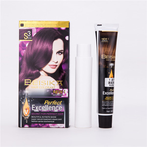 Hair dye color cream 80g