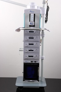 High quality low price 19 in 1 facial beauty machine with High Frequency AM-1608A