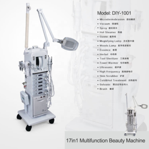 hotsale 17in1 multi-functional beauty equipment DIY-1001