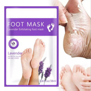 OEM/ODM Lavender foot mask moisturizes and whitens the skin foot mask
