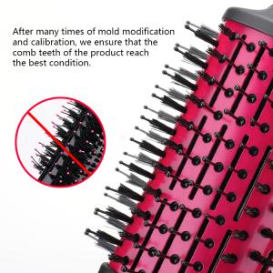 One Step Hair Dryer Brush Fast Hair Straightener 2 In 1 Hot Air Brush revlon blow dryer brush//