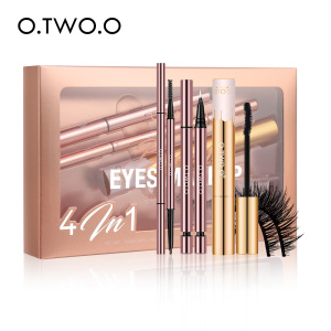 O.TWO.O Cosmetics Eyelashes Mascara Eyeliner Eyebrow Pencil Makeup Gift Sets Eyes makeup set