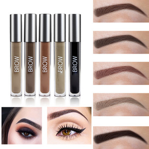 Private Label Longlasting Waterproof Fast Dry Eyebrow Gel Pencil for Makeup