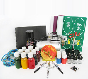 ready to use temporary airbrush tattoo set from Hebei