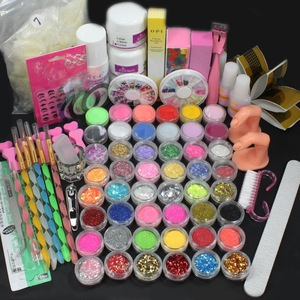Top grade acrylic nail glitter powder for acrylic powder Decoration