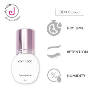 Waterproof Eyelash Adhesive 0.5 Sec Eyelash Glue Lash Glue Eyelash Extensions