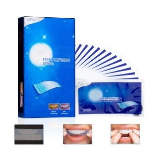 14Pcs/7Pair teeth whitening strips Dental Whitener Teeth white Care Stain Removal