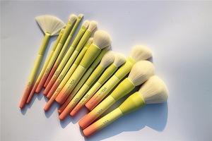 AIDEN- Personal makeup tools top quality custom logo makeup brushes blending 14pcs makeup brush set