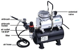 AS189K tanning machine with air tank