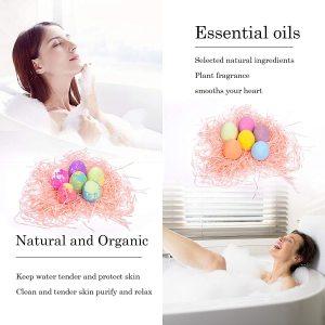 bath oil Super large home fragrance hpme Colorable different shapes   Dinosaur egg Bubble Bath Bomb
