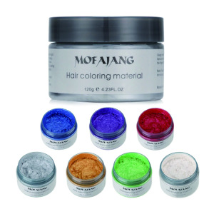 Create your own logo hair color products hot selling mofajang hair color wax with factory price