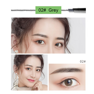 custom label eyebrow pencils slim waterproof  eyebrow pencil for eye brow