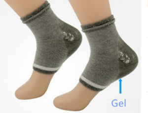 Hot sale Dry Skin Protector Moisturizing Silicone Gel Heel Socks OEM