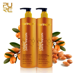 Hot sale product list macadamia oil argan oil ingredient hair conditioner and sulfate free shampoo keep hair silky all day