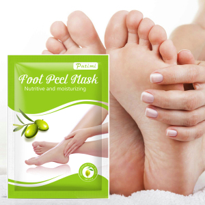 hot sales olive extract foot peel mask exfoliating Essential oil foot mask feet skin