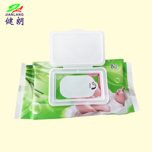 Hot Selling Cheap Natural Baby Organic Cotton Bamboo Wet Wipes  Factory from China