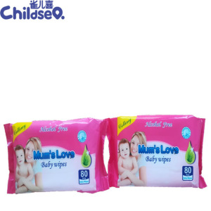 Hot Selling Cheap Natural Baby Wet Wipes Cotton Wet Wipes Factory From China