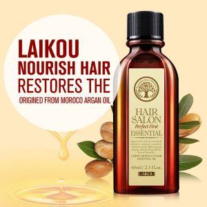 LAIKOU morocco Pure Argan Oil Hair Care Essential Oil For Dry Hair Types damaged hair repair treatment