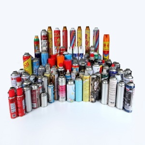 manufacture Metal Tins Spray Cans Aerosol Tinplate can