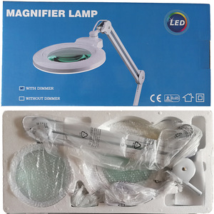 Nail Salon Furniture Top Sell Hottest Desk Clamp LED Nail Lamp Dimmable Light Magnifying Glass Cosmetic Lamp Tattoo Kits
