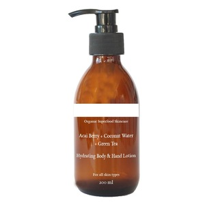 OEM Natural Pure Coconut Water Green Tea Hydrating Body Hand Lotion