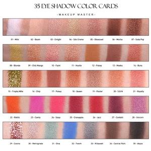 OEM Private Label Cosmetics Vegan Makeup Paper Cardboard Eyeshadow Palette