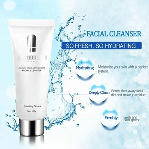 Private label face wash cleansing cream foaming facial cleanser