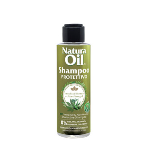 Protective Shampoo with BIO Hemp Oil and Aloe Vera