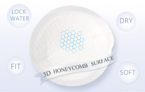 ultra thin free sample soft disposable breast pads for maternity