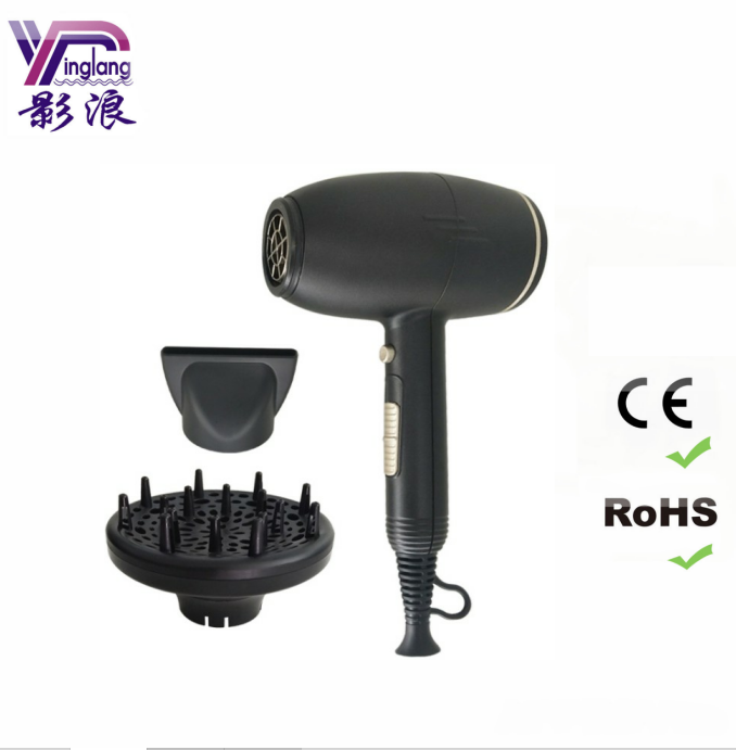 new design 2000W portable electric hair dryer professional 9800