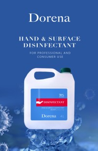 Desinfectant for hand and surface
