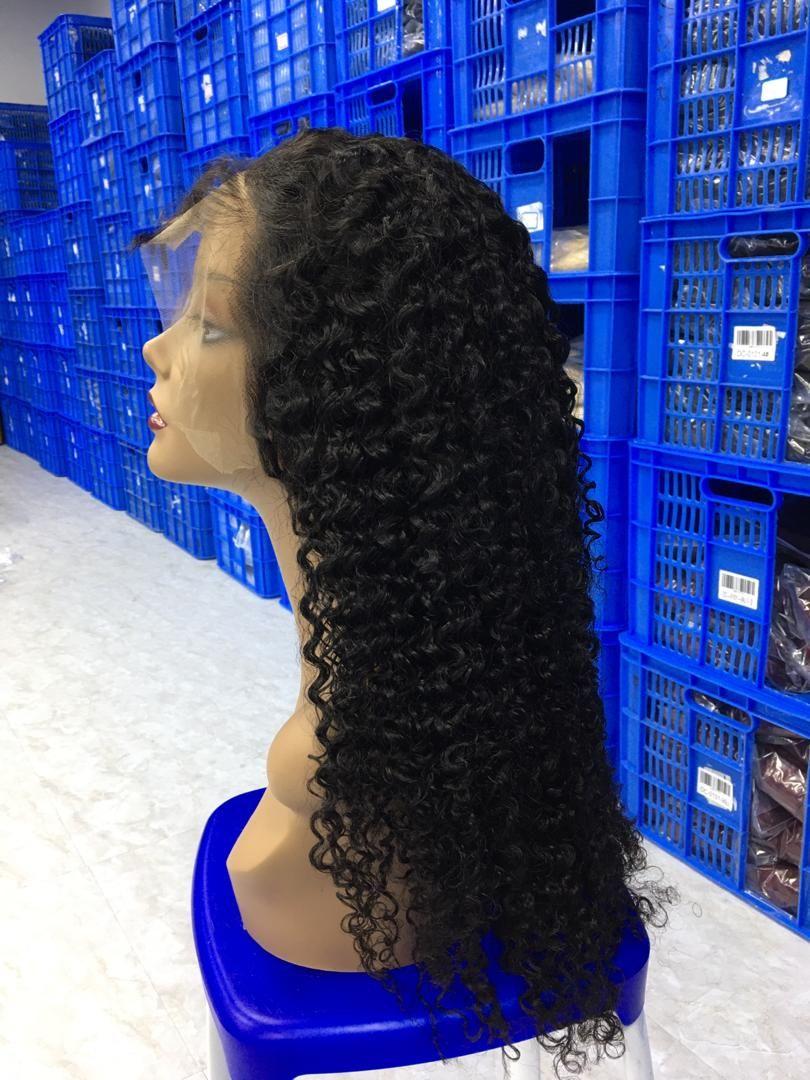 Luxury water wave unit.  13x4 human hair