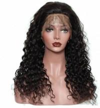 Unprocessed hair wig