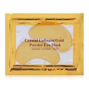 2017 Hot Sale Anti Aging Anti Wrinkle Crystal Collagen 24k Gold Powder Eye Mask