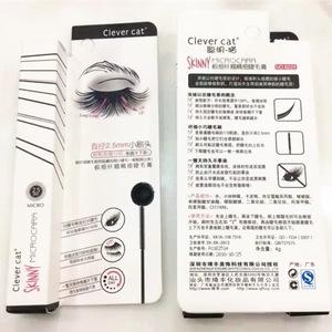 2.5mm Micro Natural Waterproof Black Feather Extension Curling Eyelash Mascara