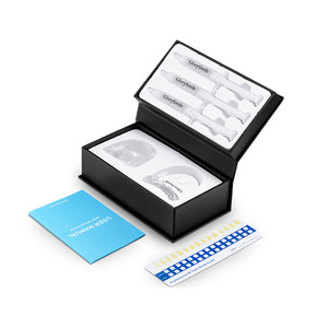 Food Grade Silicon Tray And Battery Control LED Light In Salon Teeth Whitening Kits Private Logo