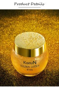 KanjN 24K Gold Skin Whitening Moisturizing Face Body Lotion Cream
