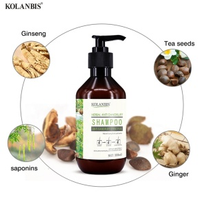KOLANBIS Wholesale Herbal Cleansing Hair Color Spray Shampoo Private Label African American Hair Care Products
