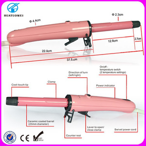 Korean hair care products led rotating hair curler hair curling iron