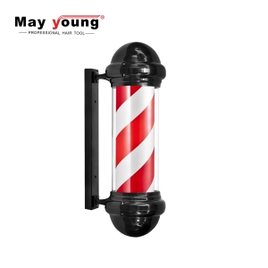 M311 Magic hair salon equipment barber pole decorative rotating barber shop lamp