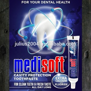 MEDISOFT Cavity Protection Toothpaste with Calcium and Floride