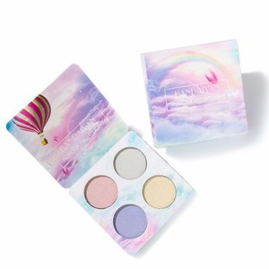 Recommend hot sell glitter diamond eyeshadow 4 colors magic eye shadow palette for makeup