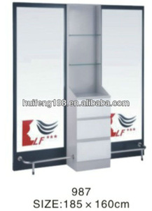 Salon equipment double sided styling station 987
