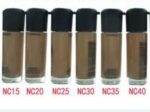 Waterproof Long Lasting Moisturizing Oil-control Concealer Whitening Liquid Foundation