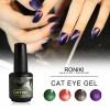 RONIKI Magnetic Cat Eye Gel Polish,Cat Eye Gel,Cat Eye Gel Polish