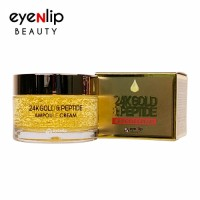 [EYENLIP] 24K Gold & Peptide Ampoule Cream 50g - Korean Skin Care Cosmetics