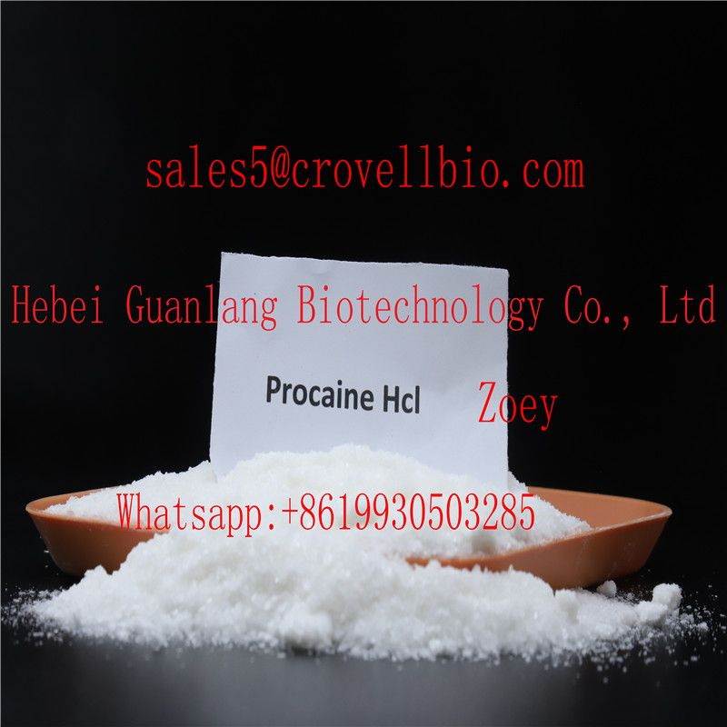 Safe delivery  Procaine base/Procaine hcl Factory supply low price zoey@crovellbio.com